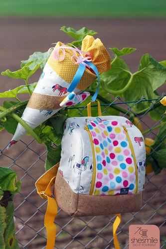 Makerist - Schultüte und KlapPack zum ersten KiTa-Tag :) - Nähprojekte - 1