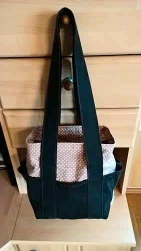 Makerist - Tasche aus Feincord gefüttert gewünscht von Verwandtschaft - Nähprojekte - 1