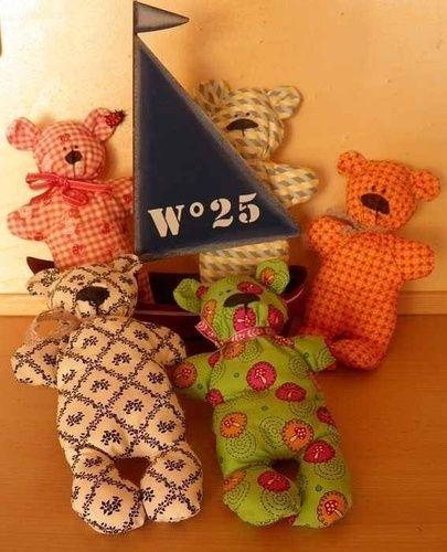Makerist - Bären von Tilda - Nähprojekte - 1