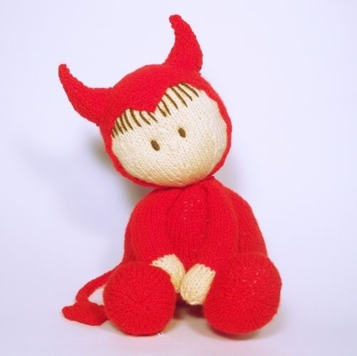 Makerist - Halloween Jo-Jo doll - Knitting Showcase - 1