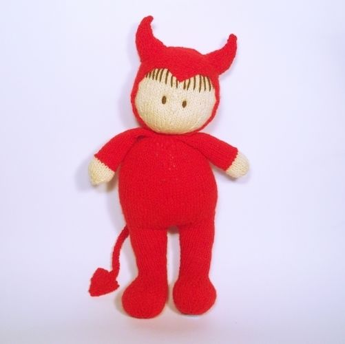 Makerist - Halloween Jo-Jo doll - Knitting Showcase - 2