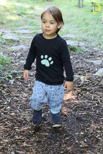 Makerist - Marty aus Musselin mit passendem Bogi-Shirt - Nähprojekte - 1