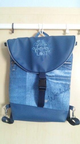 Makerist - Rucksack Hikebag groß - Nähprojekte - 1