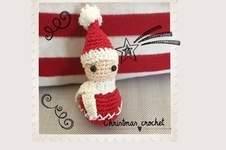 Makerist - Petit lutin de Noël au crochet tuto gratuit. - 1
