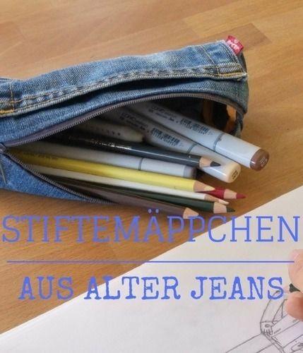 Makerist - Schlampermäppchen aus alter Jeans - Nähprojekte - 1
