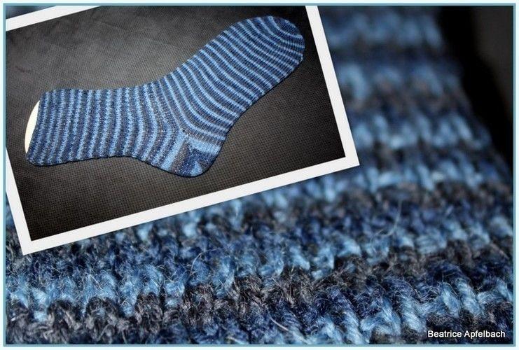 Makerist - Socken für den Mann - Strickprojekte - 1
