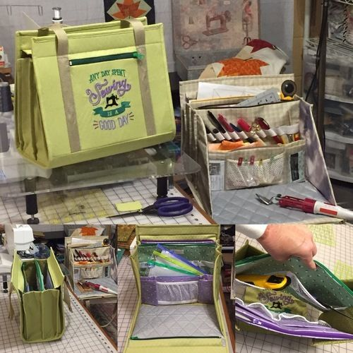 Makerist - Ultimate carry all bag for any kind of crafts - Sewing Showcase - 3