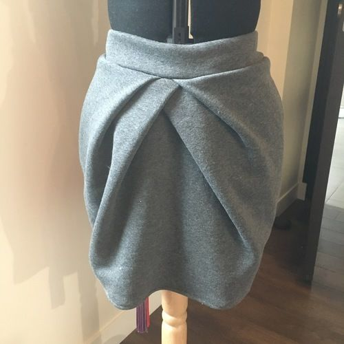 Makerist - Jupe d'hiver en sweat - Créations de couture - 1