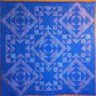 Makerist - Geometrie in Azurblau  - 1