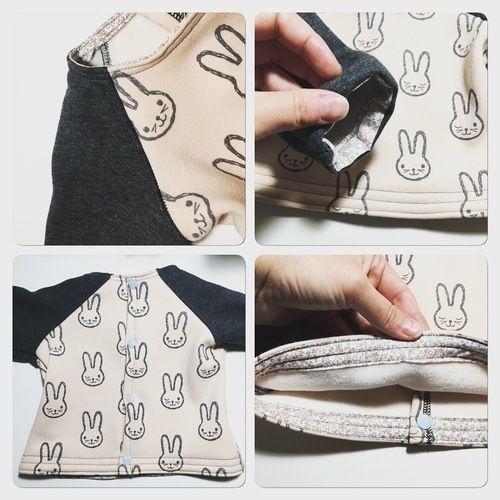 Makerist - Sweat bébé Jersey  - Créations de couture - 2