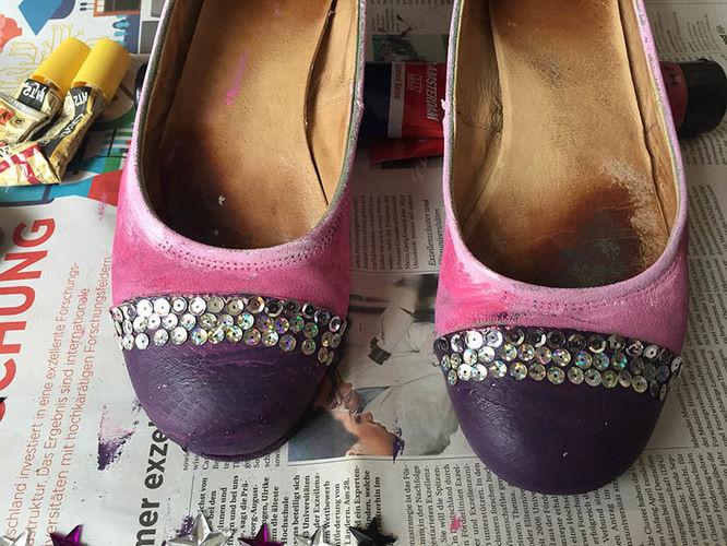 Makerist - Beachte die farblich passenden Schuhe! - Nähprojekte - 3