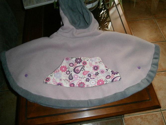 Makerist - cape pour ma petite fille - Créations de couture - 1