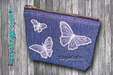 Makerist - Tasche mit Reißverschluss aus alter Jeans nähen - Recycling DIY - 1