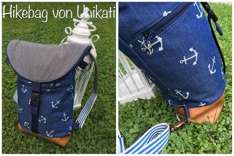 Makerist - Maritimer Rucksack aus Softshell - Nähprojekte - 2