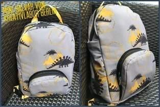 Kindergartenrucksack aus Softshell