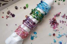 Makerist - Serviettenringe aus Glasperlen - 1