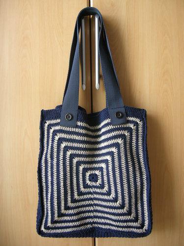 Makerist - Tasche mit Grafikmuster - Häkelprojekte - 1