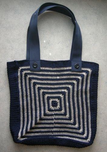 Makerist - Tasche mit Grafikmuster - Häkelprojekte - 2
