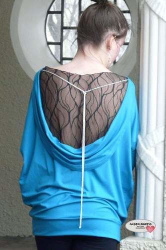 Makerist - Backless Polli Shirt - Nähprojekte - 1