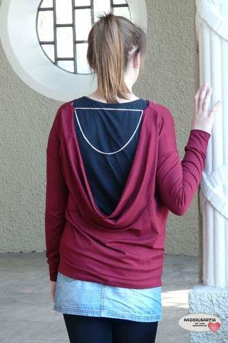 Makerist - Backless Polli Shirt - Nähprojekte - 3