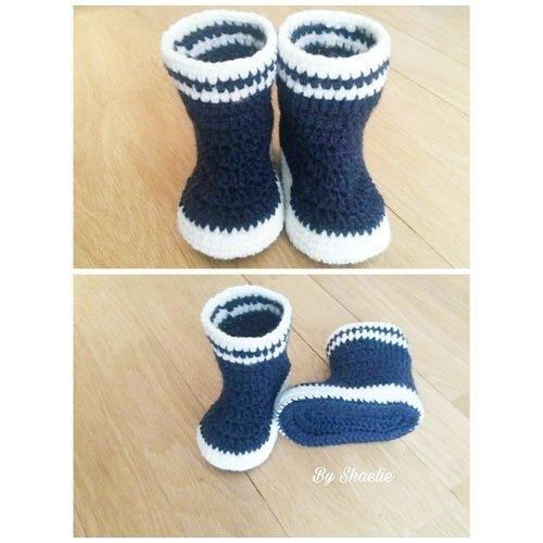 Makerist - Bottes de pluie  - Créations de crochet - 1