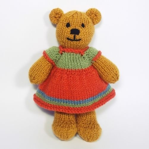 Makerist - Bitsy Teddy - Knitting Showcase - 2
