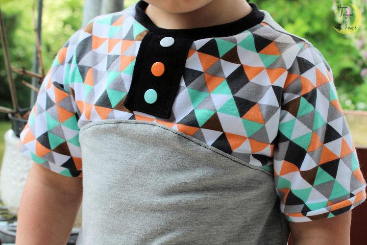 """Makerist - Buntes Shirt """"Maxima"""" - Nähprojekte - 2"""
