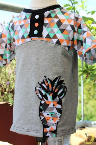 """Makerist - Buntes Shirt """"Maxima"""" - Nähprojekte - 3"""