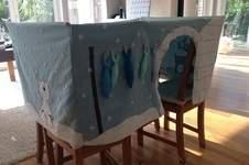 Makerist - Tischhusse Spielzelt für eine Kindergartengruppe  - 1