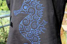 Makerist - Seepferdchen-Shirt - 1