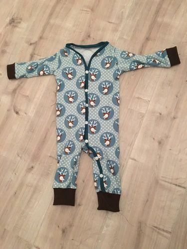 Makerist - 'Baby-Jumpsuit' Einteiler/Schnittmuster und Nähanleitung I Kid5 - Nähprojekte - 1