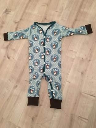'Baby-Jumpsuit' Einteiler/Schnittmuster und Nähanleitung I Kid5