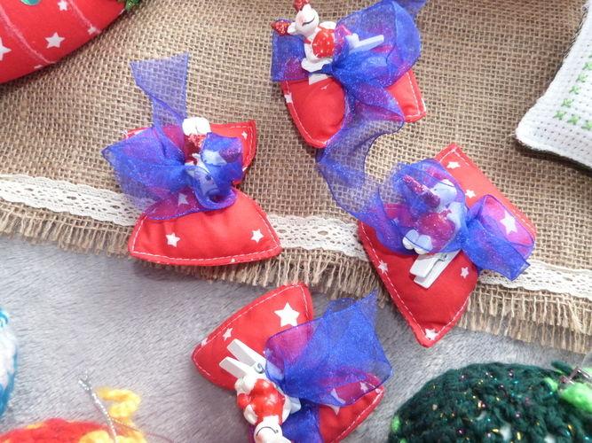 Makerist - Décorations de table de Noel - Créations de couture - 1