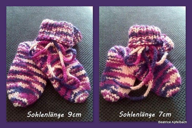 Makerist - Kuschelsocken fürs Baby - Strickprojekte - 1