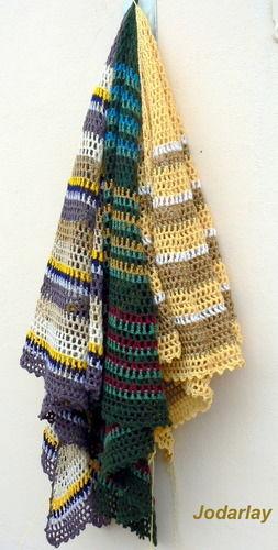 Makerist - Pépé, un châle au crochet à porter tout l'année - Créations de crochet - 1
