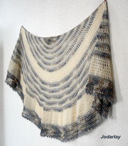 Makerist - Pépé, un châle au crochet à porter tout l'année - Créations de crochet - 3