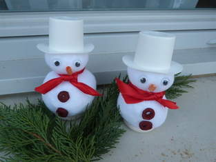 Makerist - Bonhommes de neige - 1