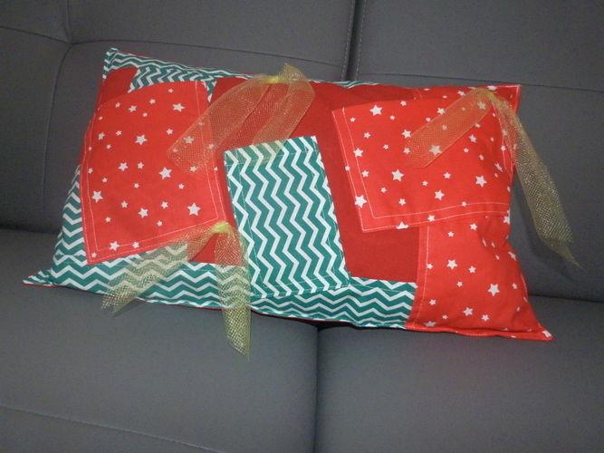 Makerist - Coussin de Noel pour télécommandes - Créations de couture - 1
