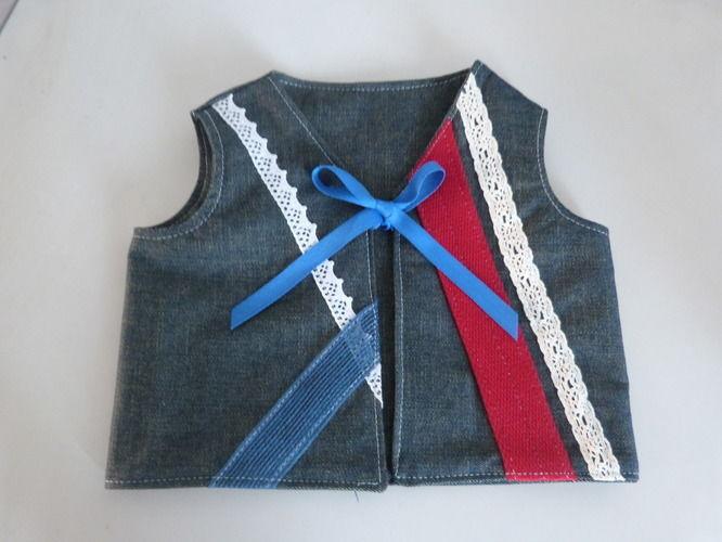 Makerist - gilet bébé - Créations de couture - 1