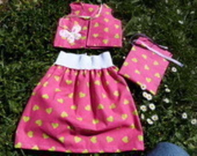 Makerist - ensemble fille ( 2 ans) - Créations de couture - 1