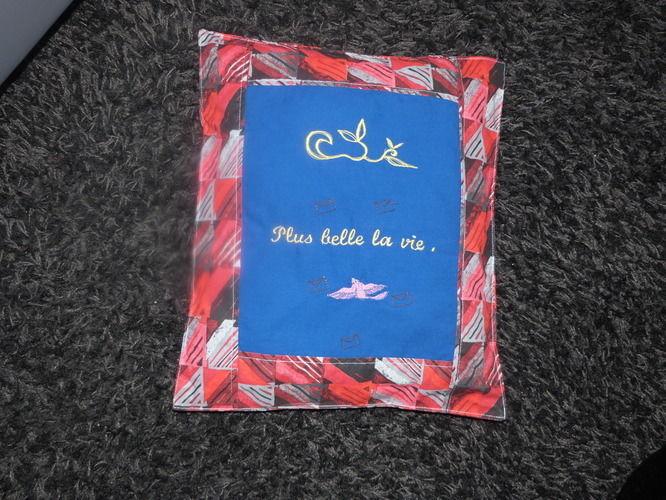 """Makerist - coussin """" plus belle la vie""""  - Créations de couture - 1"""