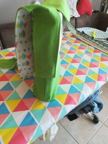 Makerist - Sac enfant avec anses à nouer sur base du sac Lucien.  - Créations de couture - 2