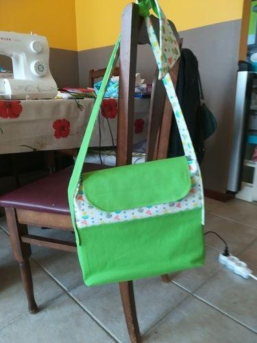 Makerist - Sac enfant avec anses à nouer sur base du sac Lucien.  - Créations de couture - 3