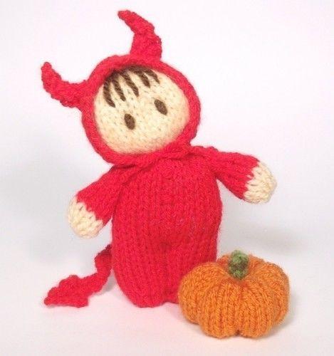 Makerist - Little Devil bitsy Baby - Knitting Showcase - 1