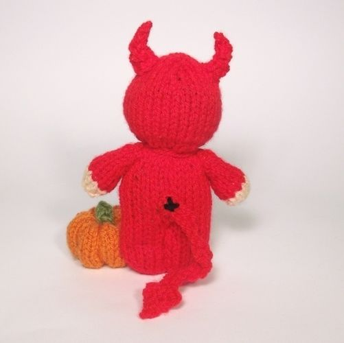 Makerist - Little Devil bitsy Baby - Knitting Showcase - 2