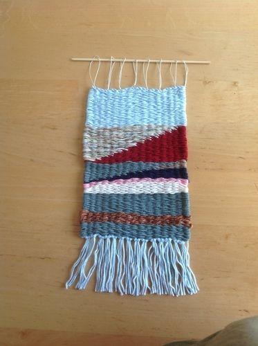Makerist - Blaugrüne Welt aus Wolle - Textilgestaltung - 1