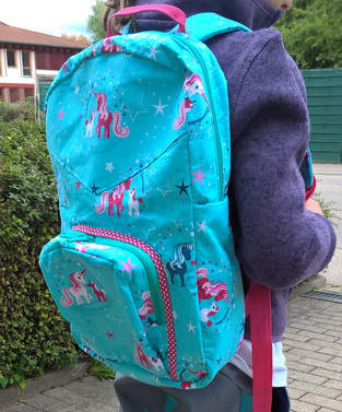Ein neuer Rucksack für das Schulkind
