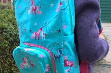 Makerist - Ein neuer Rucksack für das Schulkind  - 1