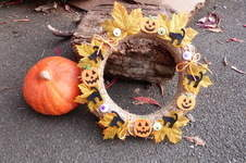 Makerist - couronne Halloween - 1