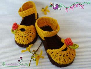 Makerist - Babysandalen für den Sommer - 1